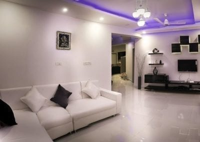 modern living room, white living room, white living room with dark accents